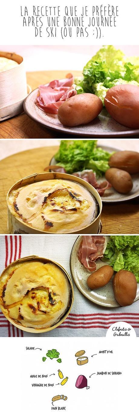 recette de fondue au mont d or