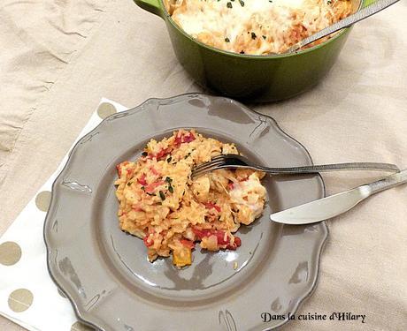 One-pot-rice à l'Italienne / Italian one-pot-rice