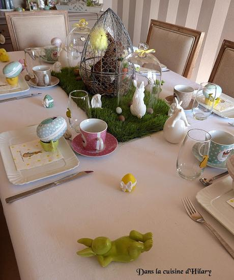 [Déco de table] Mon brunch de pâques / My Easter brunch table decoration