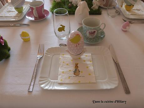 [Déco de table] Mon brunch de pâques / My Easter brunch table decoration