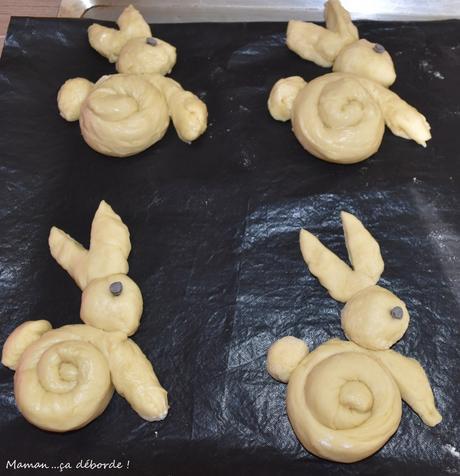Lapins briochés de Pâques2