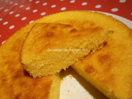 Moelleux au citron d 39 herv cuisine - Herve cuisine tarte citron ...