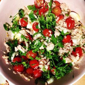 Pasta au thon et tomates cerises en 30 minutes chrono