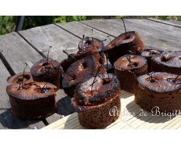 Mini Brownies aux cerises