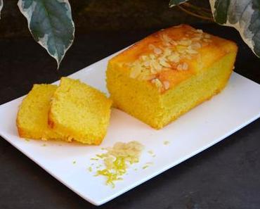 Cake moelleux au citron et amandes