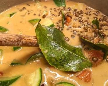 Un parfum de Thaïlande – Curry de lentilles vertes