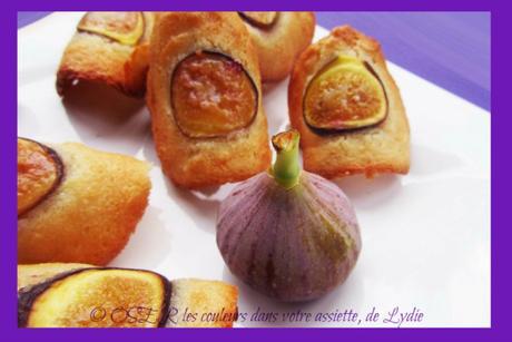 Tuiles d'amandes aux figues fraîches
