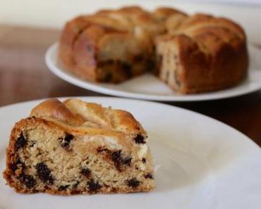 Gâteau moelleux à la poire et aux pépites de chocolat – vegan