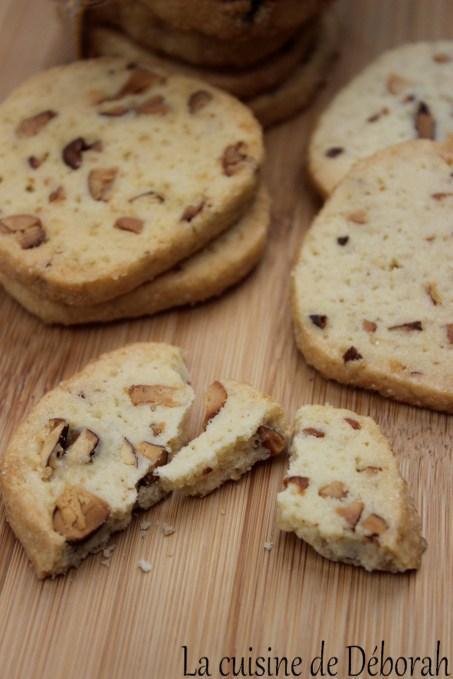 Biscuits amandes et noix de cajou