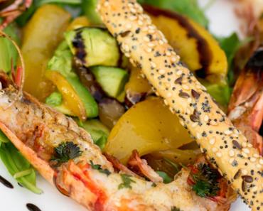 Salade de langoustines mangue avocat