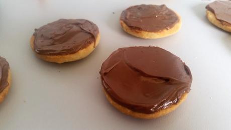 [Les Biscuits de l'Avent] Sablés à la pâte à tartiner.