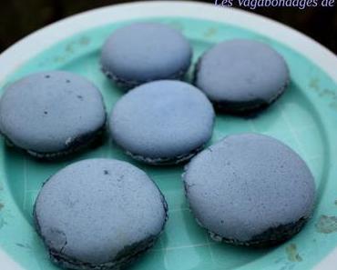 Macarons poire-fourme d'Ambert