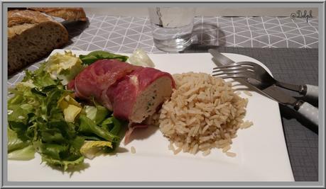 Mousse de Poulet Bardée de jambon de Bayonne