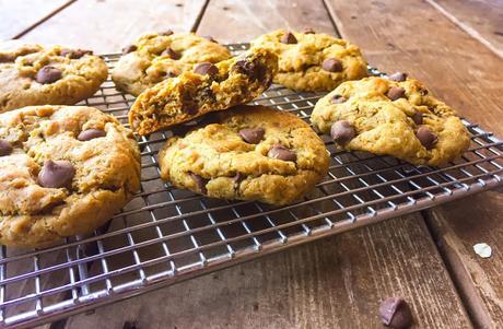Cookies au Beurre de Cacahuètes et Pépites de Chocolat