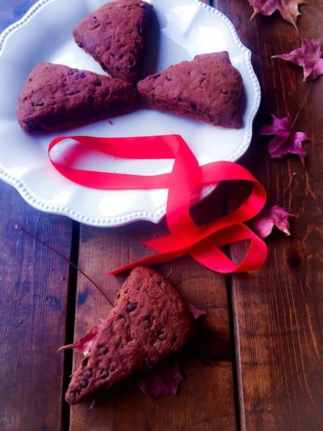 Scones Doublement  Chocolat