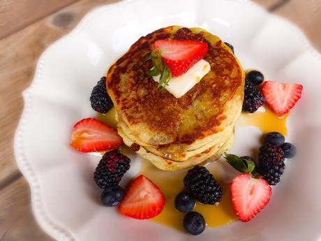 Pancake Gluten Free à la Poudre D 'Amande
