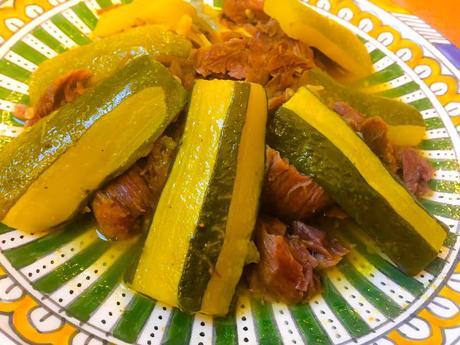 Tajine de Boeuf aux Courgettes Sauce Safran