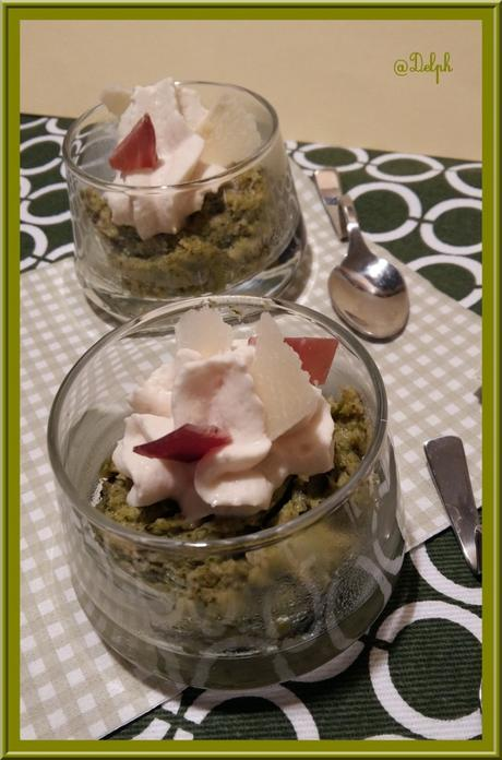 Mousse de Brocolis et sa crème chantilly à la Coppa