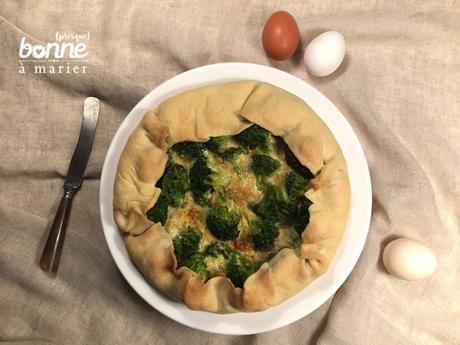 Tarte surprise brocoli curry