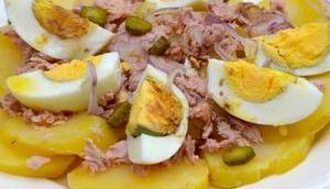 Salade pommes terre thon