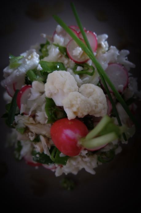 Taboulé de chou-fleur cru