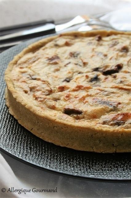 tarte pesto chignons ricotta bio sans gluten sans oeufs