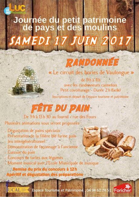 Journée du petit patrimoine de pays et des moulins au Luc en Provence