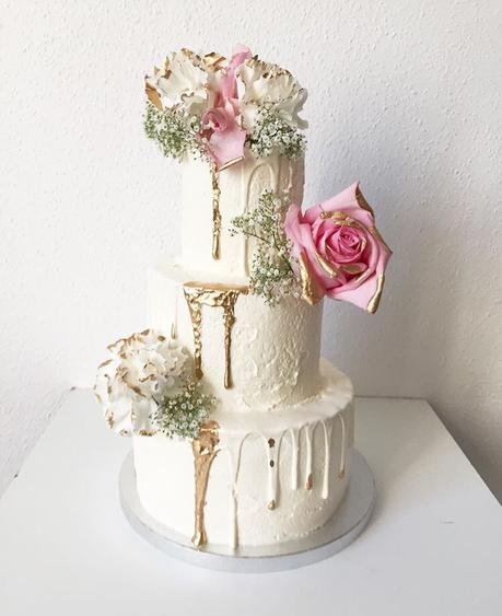 Wedding Cake Romantigue & Bohème