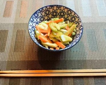 Soyons zen – Salade de céleri et de carotte japonaise