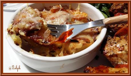 Flan de Courgettes et Pommes de terre