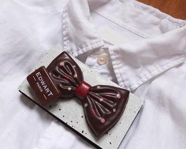 Noeud papillon en chocolat pour la fête des pères