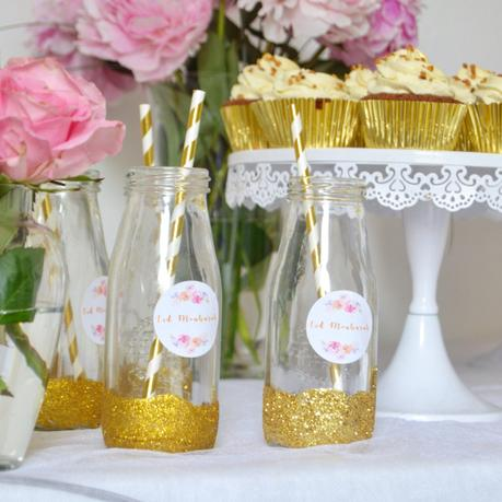 Sweet Table Eid 2017 Pink, White & Gold