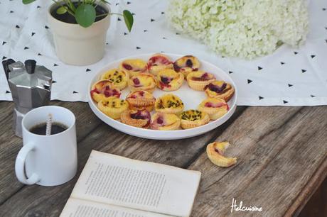 Flans aux petits fruits du jardin ou pas ...