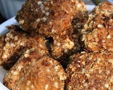 Boulettes de quinoa, lentillons, bio