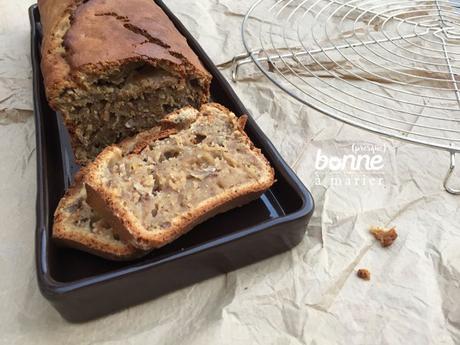 Banana bread {cake à la banane}