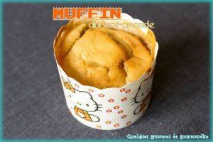 Muffins abricot-amande
