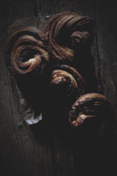 Escargots feuilletés au gianduja