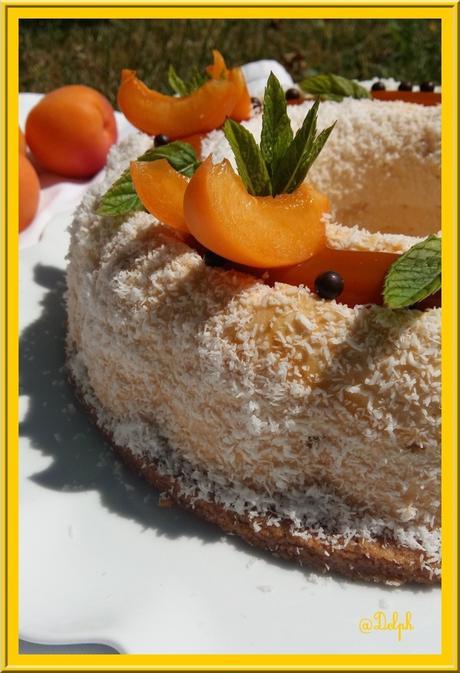 Entremet Abricot