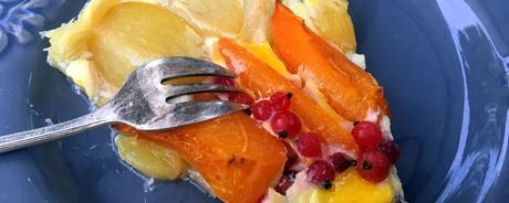 Tarte acidulée aux fruits d'été