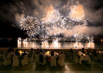 Festival d'Art Pyrotechnique Cannes 2017 au JW Marriott Cannes