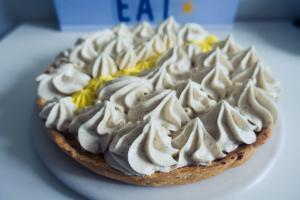 Tarte mangue chantilly vanille