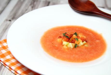 La soupe de pastèque et de melon par Alain Ducasse