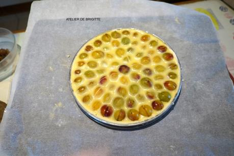 Merveilleuse tarte aux Mirabelles de Mireille