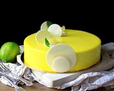 L'Exquis { Entremets Citron Basilic }
