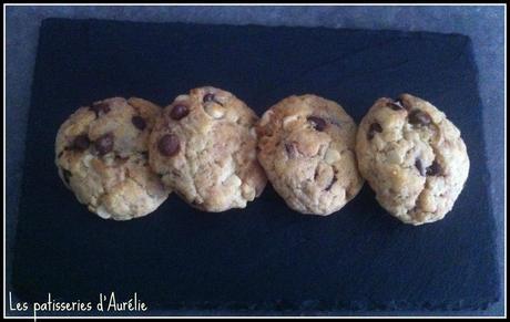 Cookies chocolat coco