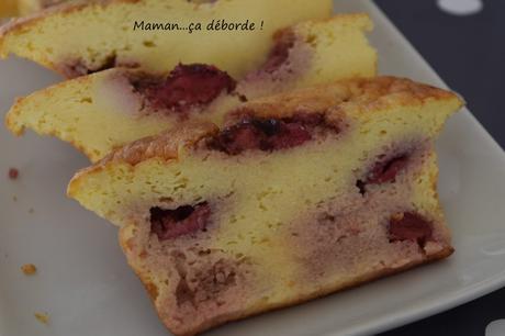 Cake citron fraise (sans farine)