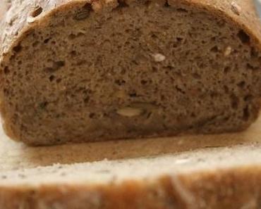 Pain aux graines Bio {sans gluten / sans lait / sans oeufs }
