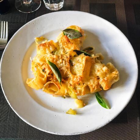 Pasta al forno con zucchine – Variation sur les pâtes au four