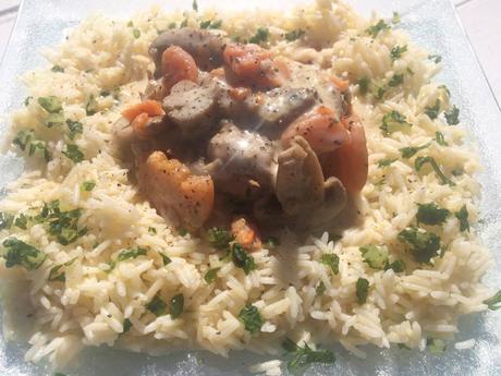 Délicieuse blanquette de veau, carottes, champignons recette facile et rapide au cookeo companion ou thermomix