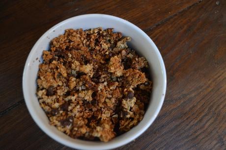 Granola Amandes Noisettes et pépites de chocolat